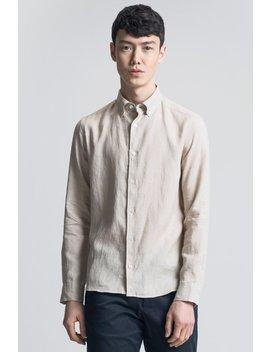 The Linen Shirt   Beige by Asket
