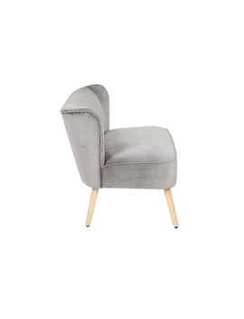 Cocktail Sofa   Grey by Homebase