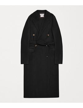 Coat In Wool by Bottega Veneta
