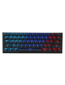[Gateron Switch]Anne Pro 2 60% Nkro Bluetooth 4.0 Type C Rgb Mechanical Gaming Keyboard    White Blue Switch by Anne Pro