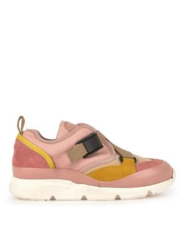 Bi Material Trainers by Chloé