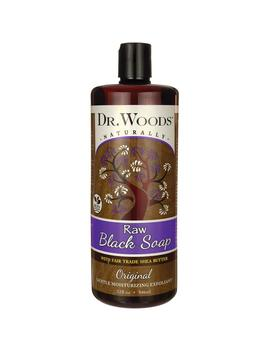 Raw Black Soap With Fair Trade Shea Butter   Original by Dr. Woods