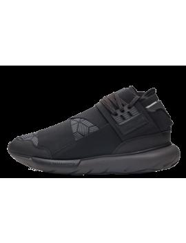 Adidas Y 3 Qasa High Utility Black by The Sole Supplier