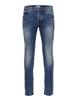Slim Fit Stretch Washed Style Jeans by Only & Sons