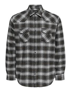 Checkered Flannel Shirt by Only & Sons