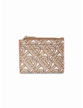 Monogram Print Coin Purse by Burberry