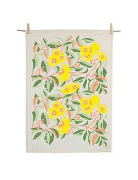 Earth Greetings Organic Tea Towel by Earth Greetings