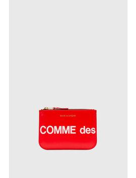 Cdg Wallet / Huge Logo by Comme Des Garçons Wallets