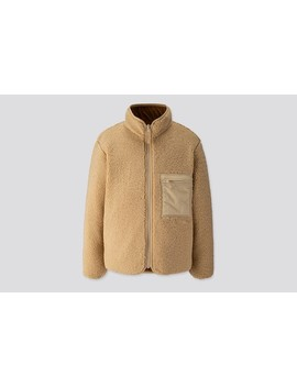 Pile Lined Fleece Reversible Jacket by Uniqlo