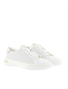 Codie Lace Up Optic White/Pale Gold by Michael Kors