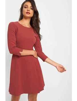 Orsay A Linien Kleid Mit Fältchen Details by Orsay