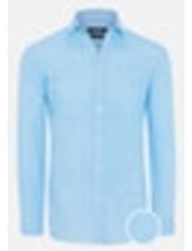 Aqua Gary Slim Shirt by Connor