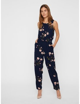 Blomsterprintet Jumpsuit by Vero Moda