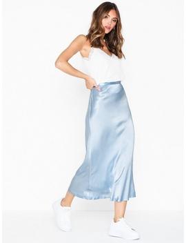 Lulla Satin Skirt by Neo Noir