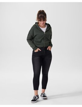 Perry Spacer Cropped Hoodie by Universal Standard