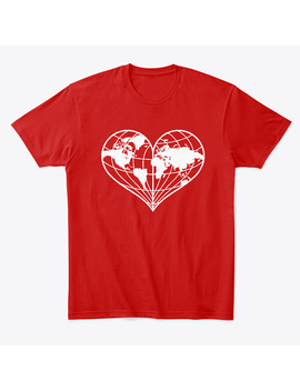 Global Heart Climate Awareness T Shirt by Teespring