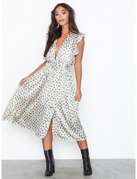 Maxi Dot Dress by Glamorous
