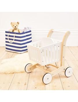 Wooden Shopping Trolley by Jo Jo Maman Bebe