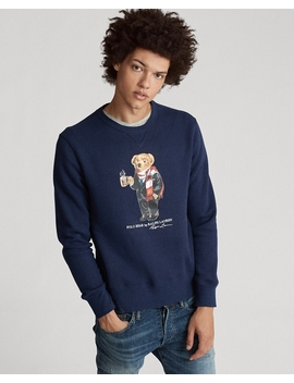 Cocoa Bear Fleece Sweatshirt by Ralph Lauren