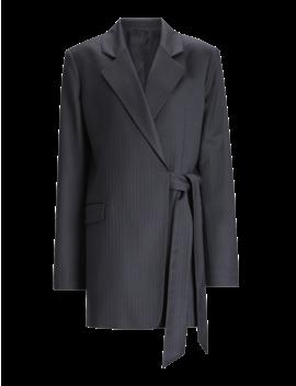 Murmure Pinstripe Stretch Jacket by Joseph
