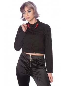 Thunderbolt Blouse by Banned Apparel