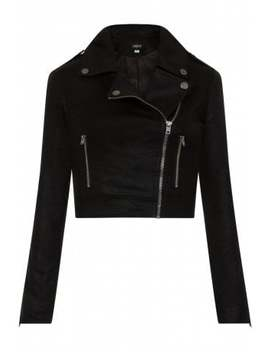 Outlaw Foiled Biker Jacket by Collectif Clothing
