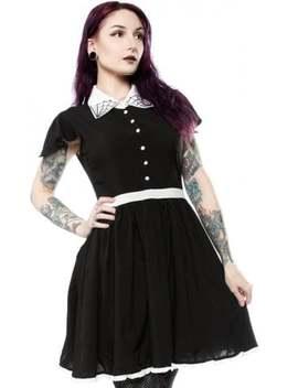 Spiderweb Lydia Dress by Sourpuss Clothing