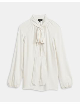 Silk Scarf Top by Theory