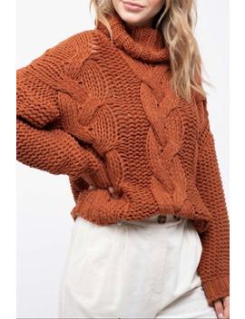 Turtleneck Knit Sweater by Apricot Lane   Wisconsin Dells, Wisconsin