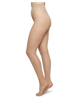 Swedish Stockings 20 Denier Innovation Tights In Beige by People Tree