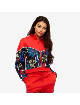 Nike Womens Sportswear Jacket Hyper Femme   Lt Crimson by Pro Direct Select