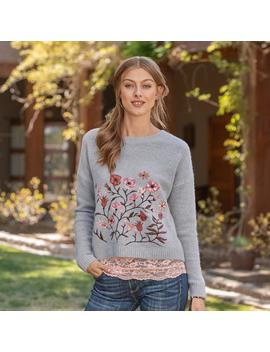 Floral Embrace Sweater by Sundance