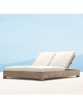 Belvedere Double Chaise Cushions by Restoration Hardware