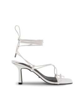 Brodi White Kid Heels by Tony Bianco