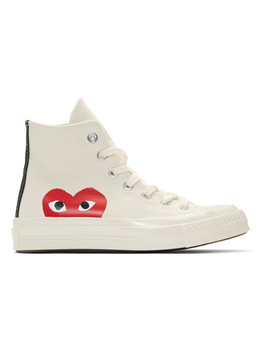 off-white-converse-edition-half-heart-chuck-70-hi-sneakers by comme-des-garÇons-play