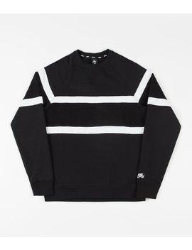 Nike Sb Everett Crewneck Sweatshirt   Black / Black / White / White by Nike Sb