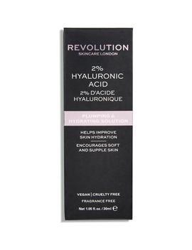 revolution-skincare-2%-hyaluronic-acid-plumping-&-hydrating-solution-30ml by revolution
