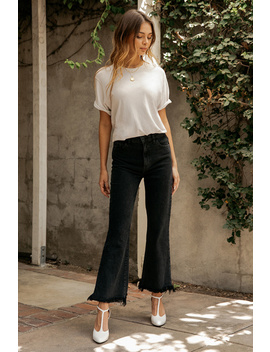 Julia High Rise Flare In Undercover by J Brand