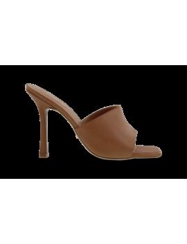 Flora Tan Como Heels by Tony Bianco