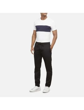 Logo Tape Drawstring Jogger Pant by Kenneth Cole