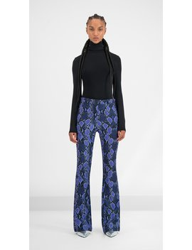Purple Snake Gady Pants by Daily Paper