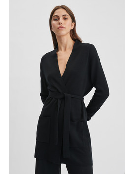 Belted Mid Cardigan by Filippa K