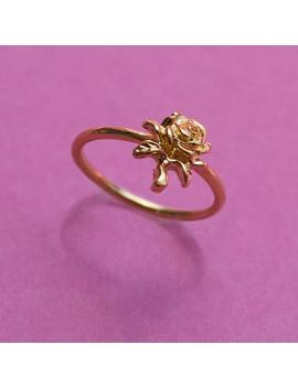 Mini Rose Ring by Vida Kush