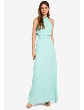 Tie Back Maxi Dress by Warehouse