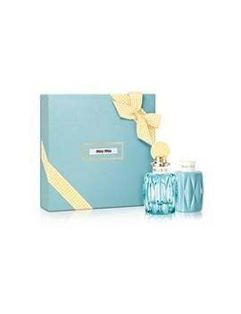 L'eau Bleue Eau De Parfum Gift Set by Miu Miu