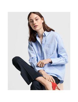 Gant Ex Boyfriend Fit Pinpoint Oxford Shirt by Gant Uk