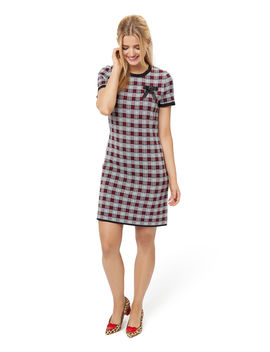 Clemmie Check Dress by Review