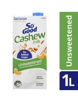 So Good Long Life Unsweetened Cashew Milk by Sanitarium