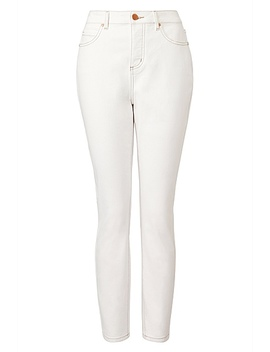 High Waist Contrast Jean by Witchery