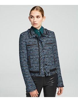 Bouclé Jacket by Karl Legerfeld